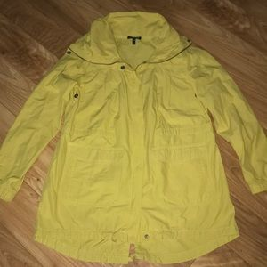 Eileen Fisher size S yellow anorak